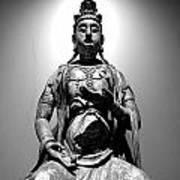 K-buddha Art Print