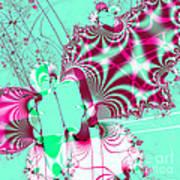 Kabuki . Square Art Print by Wingsdomain Art and Photography
