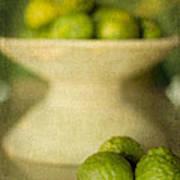 Kaffir Limes Art Print