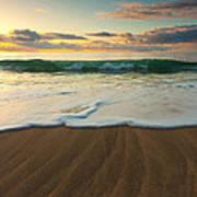 Kalalau Beach Sunset Art Print by Buck Forester