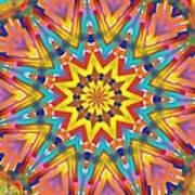 Kaleidoscope Series Number 7 Art Print