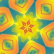 Kaleidoscope Series Number 8 Art Print