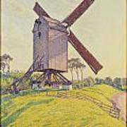 Kalf Mill Art Print