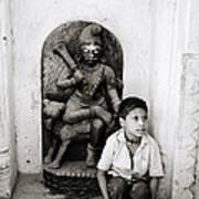 Kali In Benares Art Print