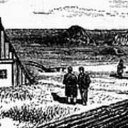 Kansas, Mennonites, C1874 Art Print