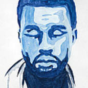 Kanye West Art Print by Michael Ringwalt