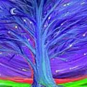 Karen's Tree 1 Art Print
