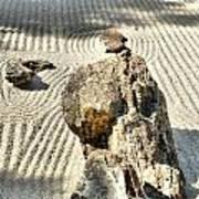 Karesansui - Dry Landscape Garden Art Print