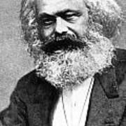 Karl Marx Art Print