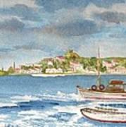 Kastelorizo Art Print by Kostas Koutsoukanidis