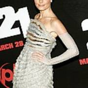Kate Bosworth  Wearing A Chanel Couture Art Print
