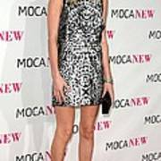 Kate Bosworth Wearing A Proenza Art Print by Everett