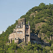 Katz Castle On A Hillside Art Print