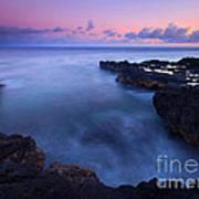 Kauai  Pastel Tides Art Print