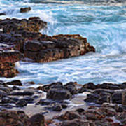 Kauai Rocks Art Print