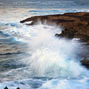 Kauai Sea Explosion Art Print