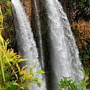 Kauai Waterfall Art Print