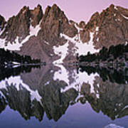 Kearsarge Lake Reflects The Nearby Art Print