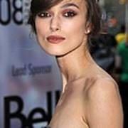 Keira Knightley At Arrivals For The Art Print