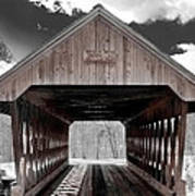 Keniston Bridge Art Print