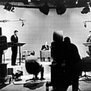 Kennedy/nixon Debate, 1960 Print by Granger