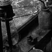 Kerosenes And Coffee Beans Art Print