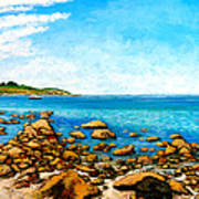 Kettle Cove Art Print