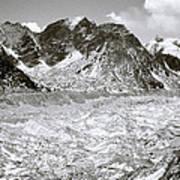 Khumbu Glacier Art Print