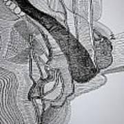Kiganda Dance  Art Print