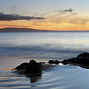 Kihei Maui Sunset Art Print
