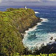 Kilauea Lighthouse Hawaii Art Print
