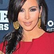 Kim Kardashian At Arrivals For 2011 Art Print by Everett