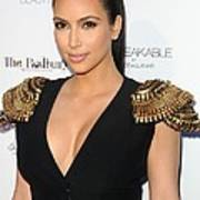 Kim Kardashian Wearing An Alexander Print by Everett