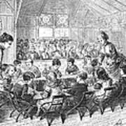 Kindergarten, 1876 Art Print