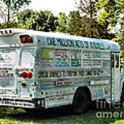 Kindness Bus 2 Art Print