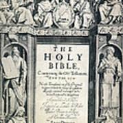 King James I Bible, 1611 Print by Granger