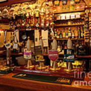 Kings Head Pub Kettlewell Art Print