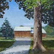 Kingsbury Farm Art Print by Mark Haley