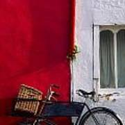 Kinsale, Co Cork, Ireland Bicycle Art Print