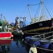 Kinsale, Co Cork, Ireland Fishing Boats Art Print