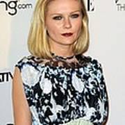 Kirsten Dunst Wearing A Rodarte Dress Art Print