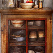 Kitchen - The Cooling Cabinet Art Print