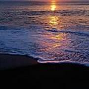 Kitty Hawk Beach At Sunset Art Print