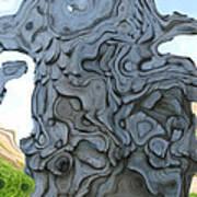 Knarly Tree Abstract Art Print