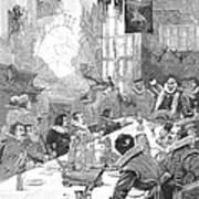 Knighting The Sirloin Art Print by Granger