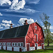 Knox Barn 13829c Art Print