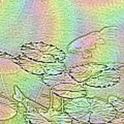 Koi Rainbow Art Print