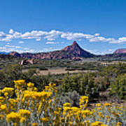 Kolob Terrace Afternoon Art Print