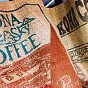 Kona Coffee Art Print