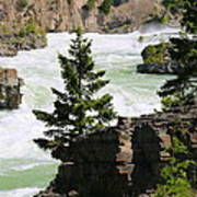Kootenai Falls In Montana Art Print